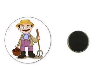 Farmer - 25 mm Magnet magnet
