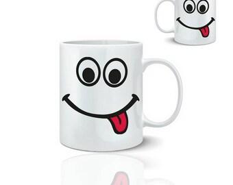 Smil language - ceramic mug mug 325 ml