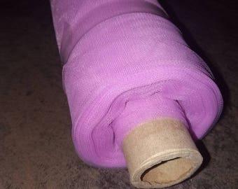 soft purple tulle CLAIRE 150 cm width