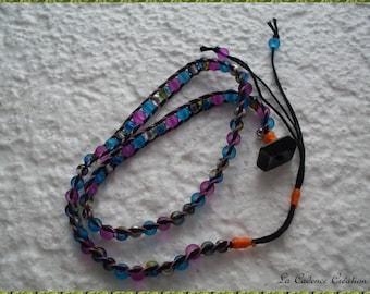 "Bracelet 'trend' Black Watch ""wrap"""