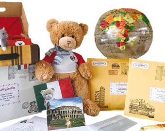Touring Teddies: Bernardo in Italy - Educational Gift for Kids