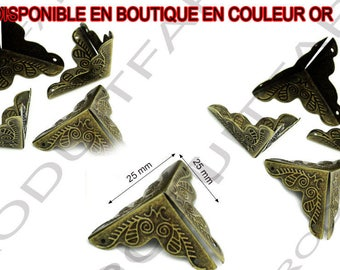 12 corners protective Bronze Angle shockproof and embellishment for furniture box chest