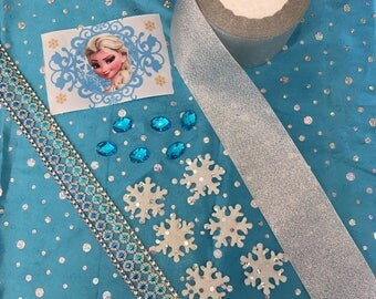 Kit sewing or scrapbooking Queen of snow
