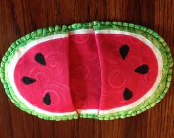 Watermelon pot mitt