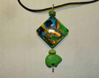 Green Bear Mystic Necklace