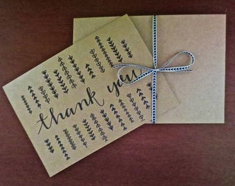 Perfectly Patterned Thank You Card (set of 5)