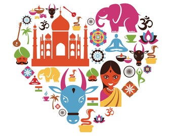 Heart with India brights