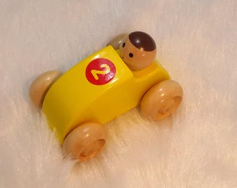 kids wooden toy car