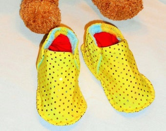 Made in France 100% machine washable and soft light slippers