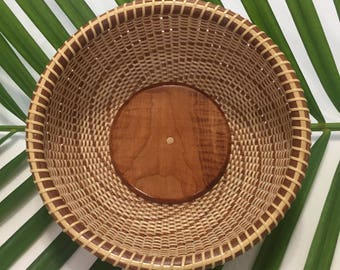 8 INCH ROUND BOWL – Nantucket Basket