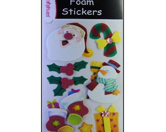 """Stickers Christmas stickers """"Simplycreative"""" scrapbooking card making (ref.110) *."""