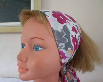 bandeau headband all in one: headband, scarf, belt