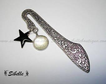 Bookmark stars - ecru (MpL16-3)