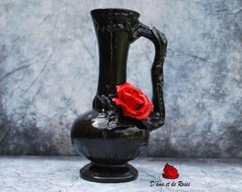 Vase 2 Baroque to Rose Rouge