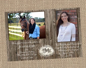 Printable Jessica Graduation Announcement