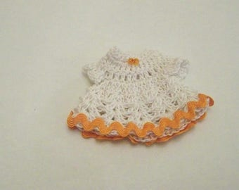 For scrapbooking and decorative crochet MINI dress