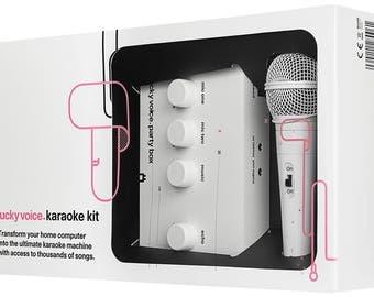 Lucky Voice Karaoke Machine