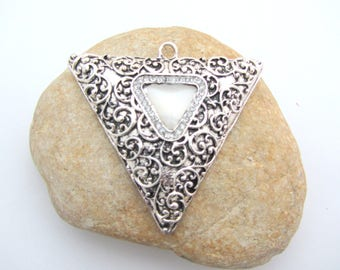 Beautiful, large triangle pendant