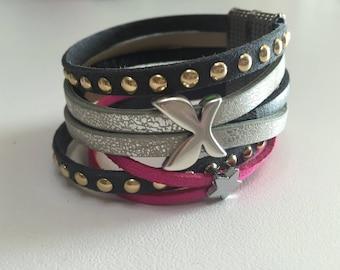 Cuff Bracelet for women size 18.5 cm