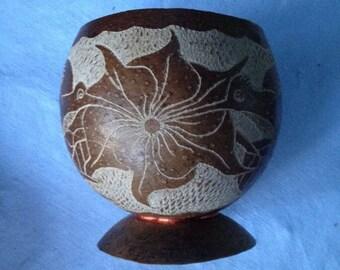 Natural Calabash cup or mug