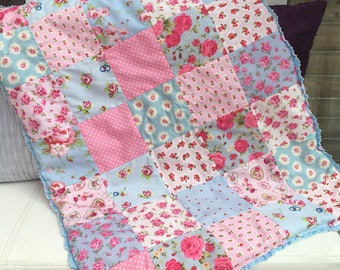 Patchwork baby blanket quilt