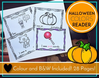 Halloween Emergent Reader, Colours Book, Colors Book, Learning Colors, Learning Colours, Halloween Activities, Halloween Printable, Teaching