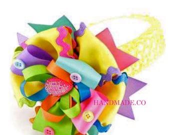 Girl birthday headband