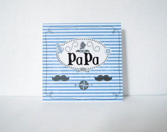 Card to wish a happy father's day
