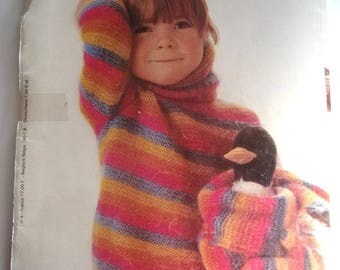 CATALOGUE of knitting BERGER du NORD No. 4 - kids COLLECTION.