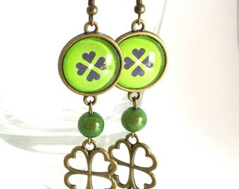 Earrings pendants #lucky #.