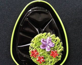 Pendant grass and flowers sold with the cord
