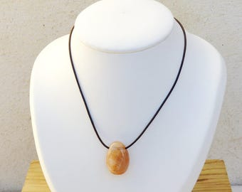 Sunstone necklace well be