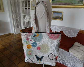 Bag practical and Chic ShabbyChic style