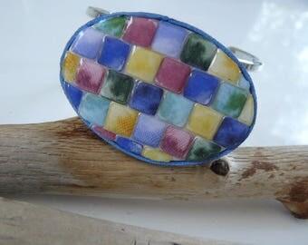"""Multicolor bracelet """"mosaic"""""""