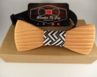 Oregon Hand Crafted Wooden Bow Tie