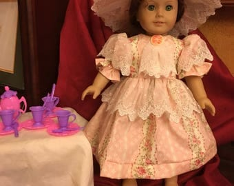 "Victorian Tea Party 18""doll Set"