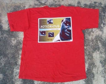 2000s Notorious Big T-Shirt size XL