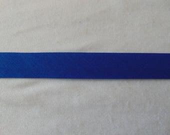 Plain, through blue bugatti, width 40/20 mm (P064)