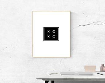 XO print