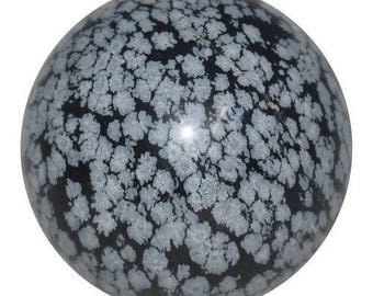 Speckled Obsidian 30mm sphere