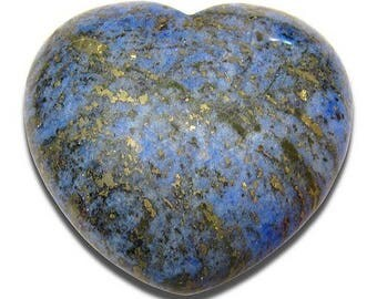 40mm lapis lazuli heart