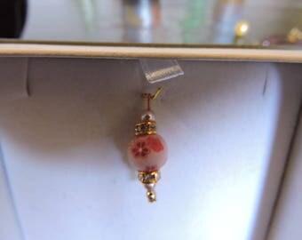 Pretty pale pink pendant