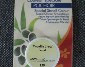 Oil color solid special stencil eggshell - Raphael