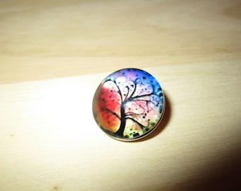 snap globe night tree