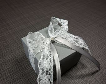 Gift with Ribbon lace