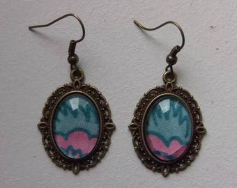 "Retro earrings ""Spirit comics"""