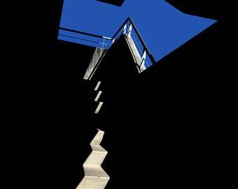 Stairway to sky - original photograph