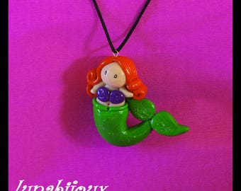 polymer clay fish, Mermaid gifts mothers