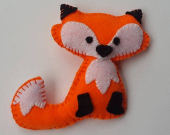 Fox, Felted animal, Felted fox, Cute fox