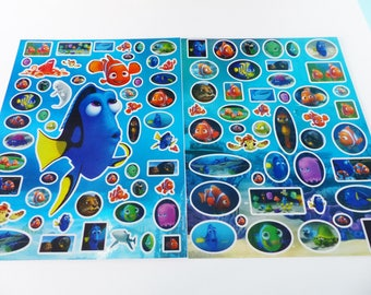 2 boards of Nemo Dory Disney World stickers stickers